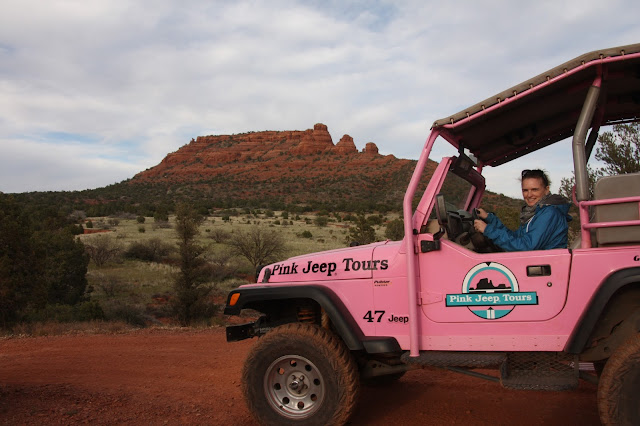 Pink Jeep Tours Sedona Arizona