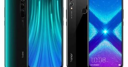 Xiaomi Redmi Note 8 Pro Vs Huawei Honor 8X Specs Comparison