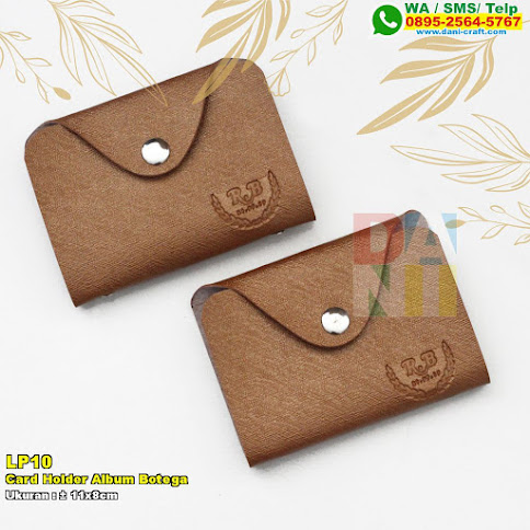 Card Holder Album Botega
