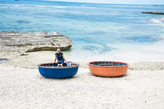 khu vực biển tại Đảo Lý Sơn
