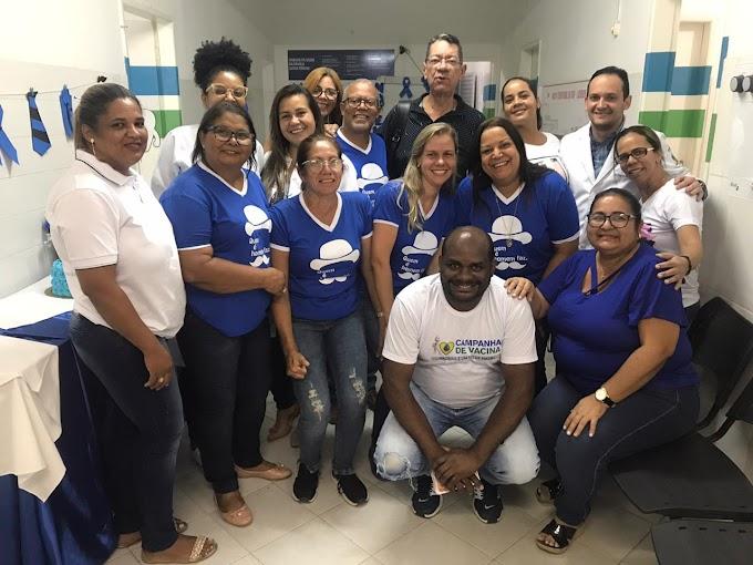 PSFs de Jacobina realizam atendimentos noturnos no Novembro Azul