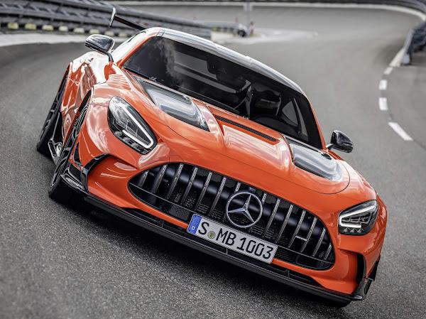 Mercedes-AMG GT Black Series chega ao país com todas as unidades vendidas