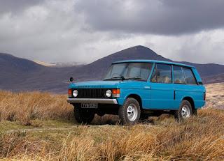 1970 Range Rover Classic 2 Door Front Right