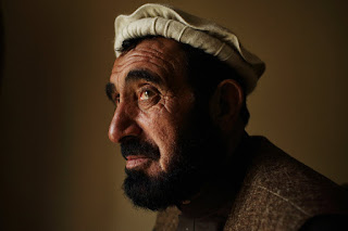 Hajji Ghalib, the governor of Achin District in the province of Nangarhar in eastern Afghanistan, was once imprisoned in Guantánamo Bay, Cuba. Credit Andrew Quilty for The New York Times
