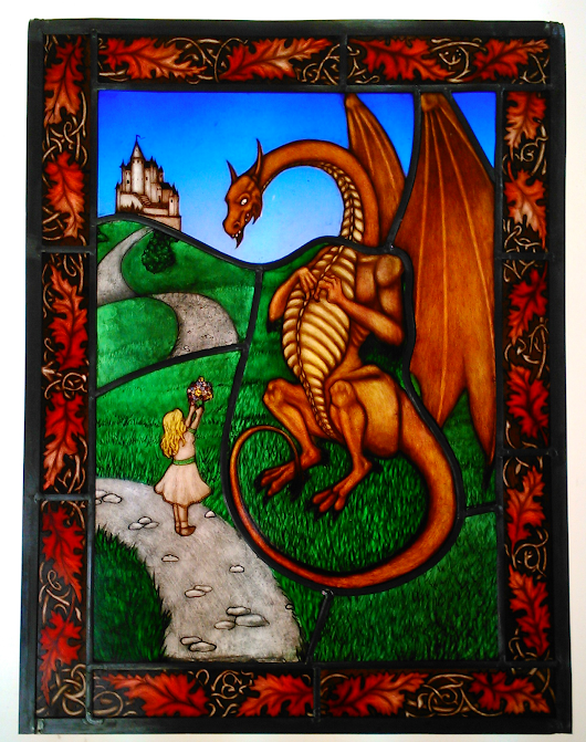 Dragon and Girl Leaded Up!