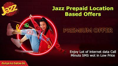 Jazz Prepaid Location Based Offers