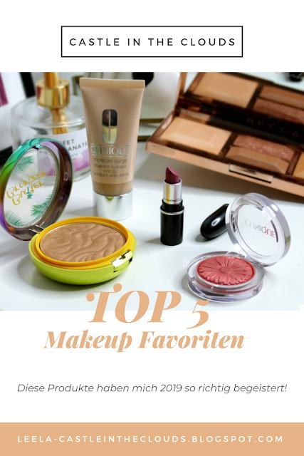 Meine Jahresfavoriten Makeup 2019 Pinterest