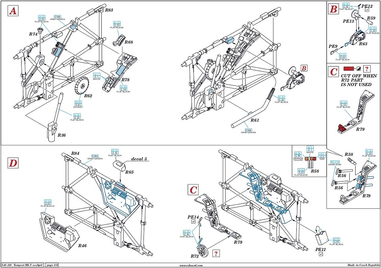 The Modelling News Build Guide 1 48th Scale Hawker
