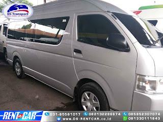 Sewa Rental Mobil  Hiace Commuter Surabaya Terbaru