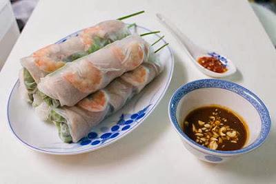 Món ăn ngon: Cuốn tôm thịt