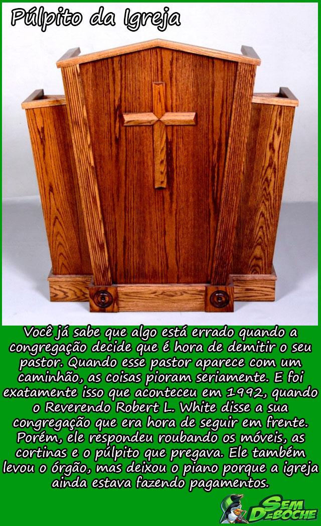 Púlpito da Igreja