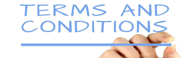 Tearms and condition title image