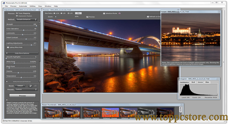 HDRsoft Photomatix Pro 2020 Free Download