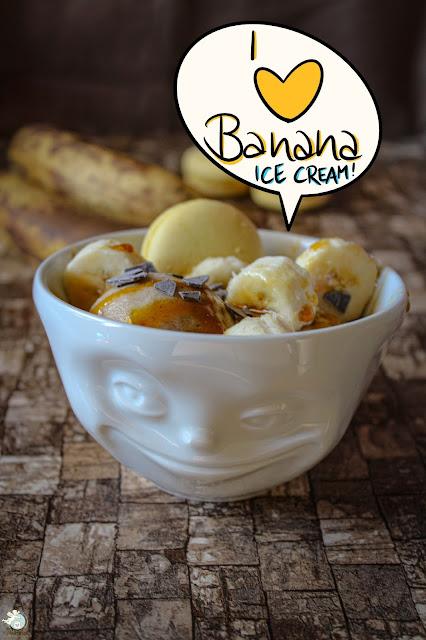 Bananeneis aus genau einer Zutat