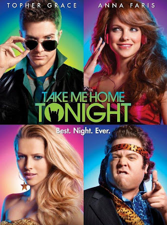 Poster Of Free Download Take Me Home Tonight 2011 300MB Full Movie Hindi Dubbed 720P Bluray HD HEVC Small Size Pc Movie Only At worldfree4u.com