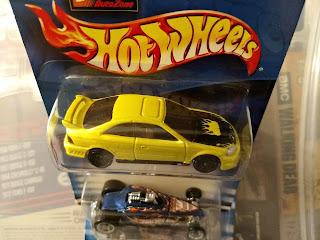 Hot Wheels auto Zone 2-Car Set Honda Civic Si