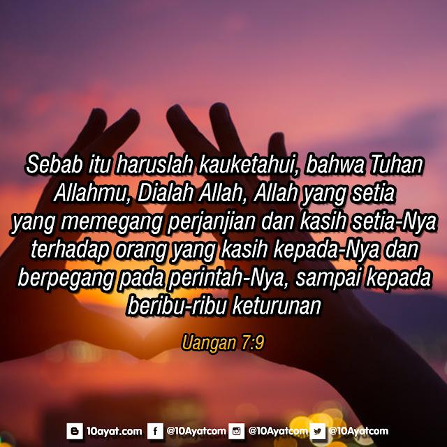 Ulangan 7:9