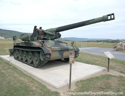 M110 Howitzer at Fort Indiantown Gap Pennsylvania