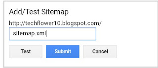 Google mei sitemap submit or add kiya