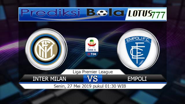 Prediksi Inter Milan vs Empoli Senin 27 Mei 2019