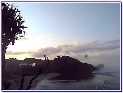 Sunrise di Pantai Sundak