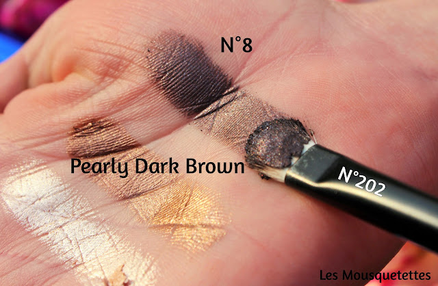 Cream Crush Eyeshadow n°6 Pearly Dark Brown KIKO - Les Mousquetettes©