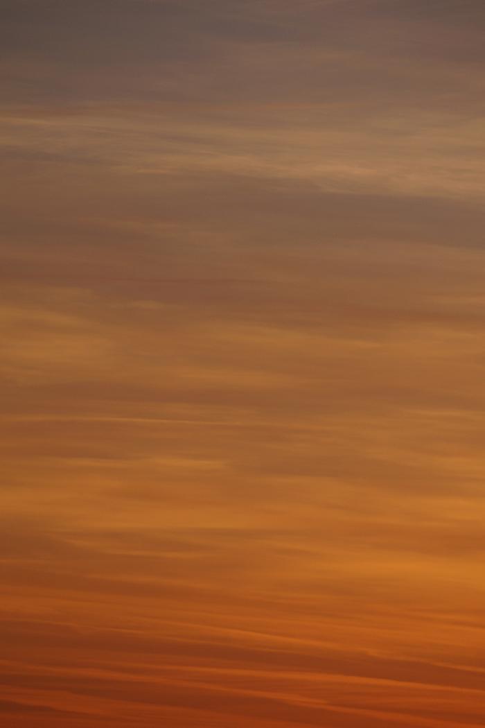 Sonnenuntergang in warmen Farben | Tasteboykott
