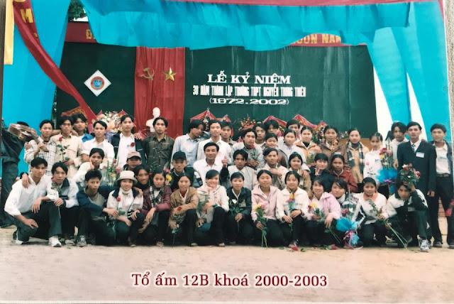 Lớp 12B Nguyễn Trung Thiên - Khóa 2000-2003