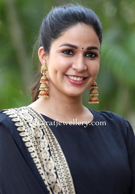 Lavanya Tripati Traditional and Trendy Earrings