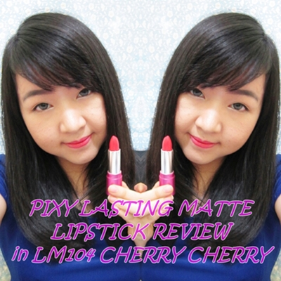 PIXY LIPSTICK REVIEW