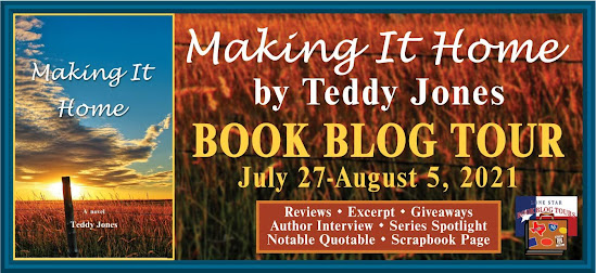 Making It Home book blog tour promotion banner