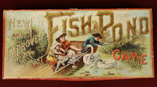 Views from north cecil 1890 mcloughlin fish pond board for Koi pond game