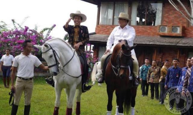 Diplomasi Kuda, Beginilah Cara Prabowo Perlihatkan Kelemahan Kepemimpinan Jokowi ke Publik