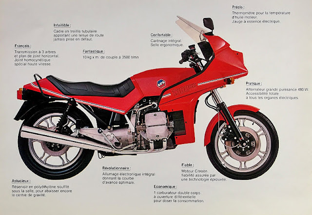 French BFG 1300 Motorbike Brochure