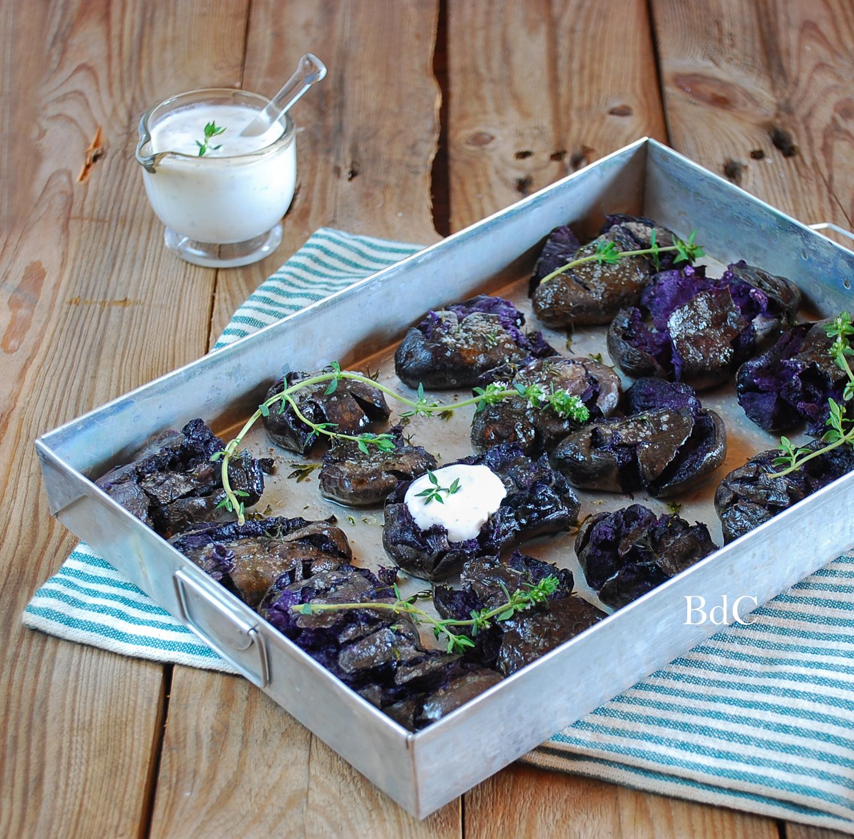 Patatas rotas moradas - El bistrot de Carmen