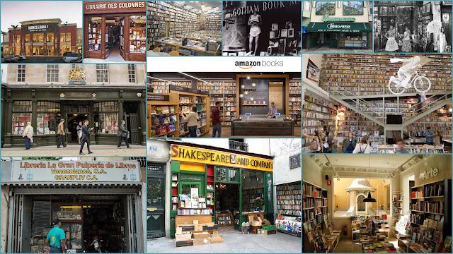Ler Devagar, Shakespeare & Company, Lello & Irmao, La Central, Gotham Books