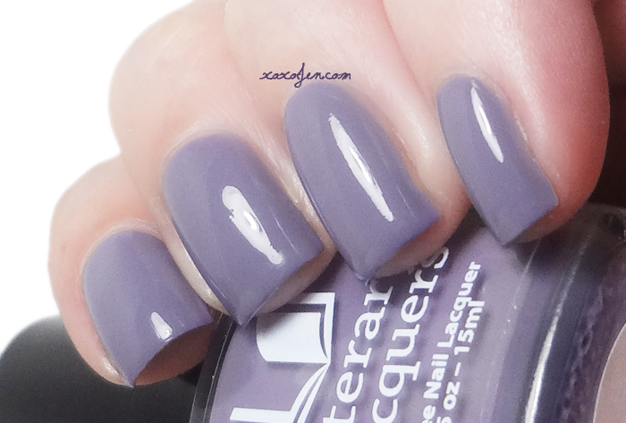 xoxoJen's swatch of Literary Lacquers Breathing Dreams Like Air