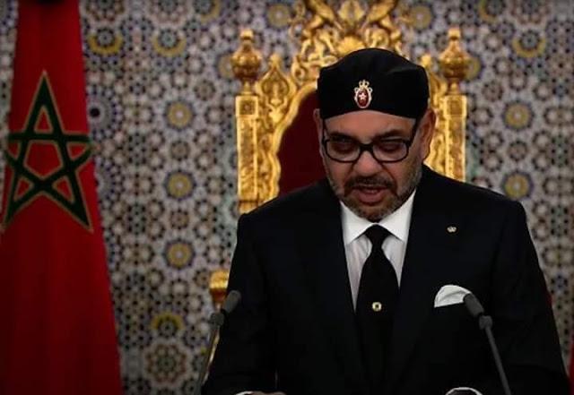 برقية تهنئة إلى جلالة الملك محمد السادس من الملكة إليزابيث الثانية بمناسبة عيد العرش المجيد