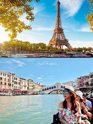 Tour du lịch Châu Âu 8 ngày Pháp – Luxembourg – Đức – Bỉ – Hà Lan