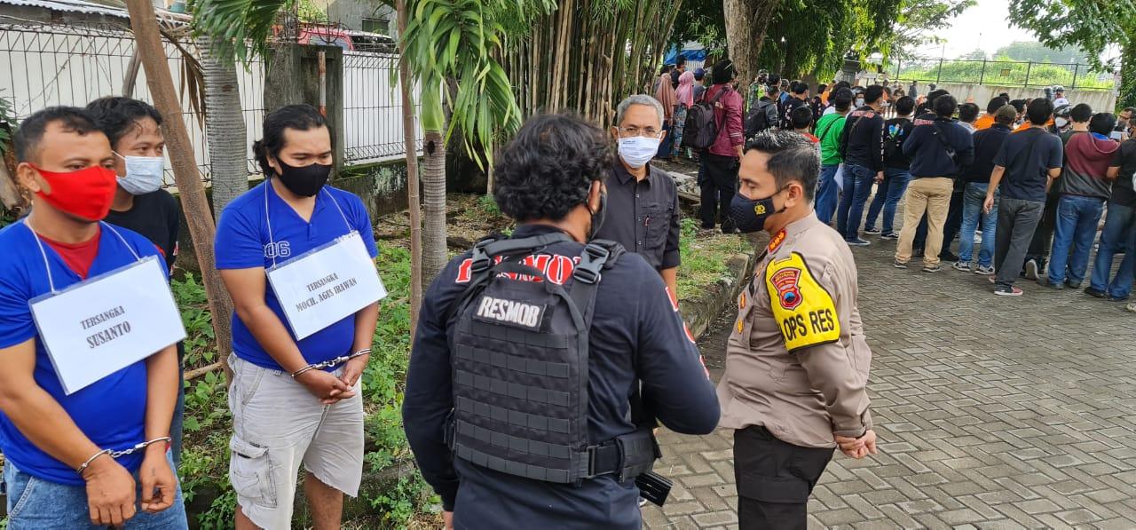 Polrestabes Semarang Berhasil Bekuk Dalang Pelaku Perampokan Uang 561 Juta