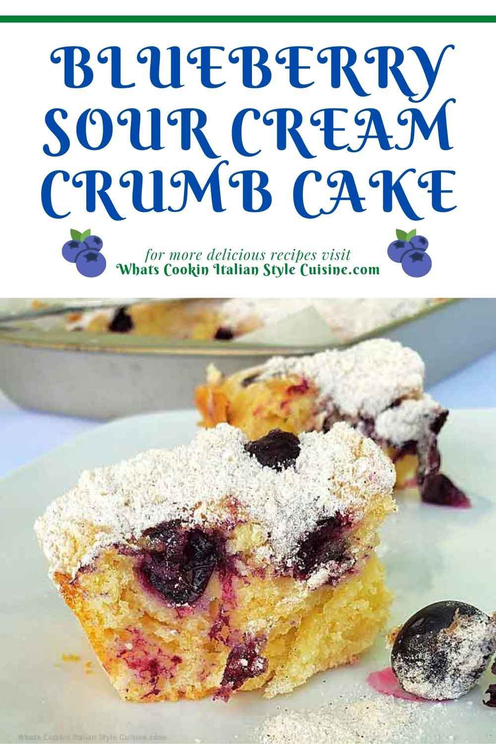 pin for later how to make blueberry crumb cake