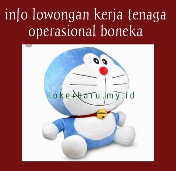 Lowongan Kerja Sebagai Tenaga Operasional Produksi Boneka