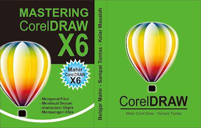 Desain Cover Buku Corel Draw Simpel Keren