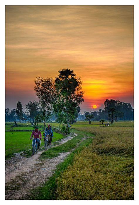 Gambar Pemandangan Alam Pedesaan Indah