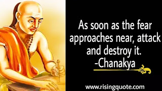 photo of Chanakya and his motivational quote about life