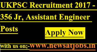 UKPSC-356-Jr-Assistant-Engineer-Posts