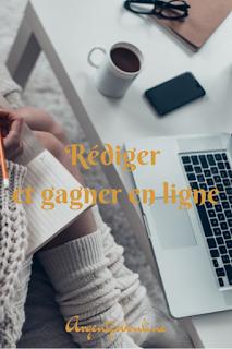 Rédiger, traduire pour gagner de l'argent en ligne, travail sur internet, travail à distance, Rémunéré pour rédiger en anglais
