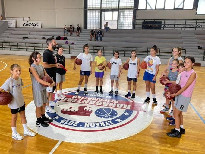 130 κορίτσια στην ακαδημία του Παναθλητικού-Φωτορεπορτάζ από τις προπονήσεις