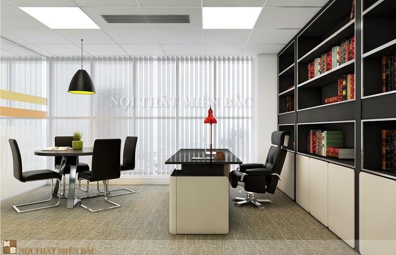 Thiết kế văn phòng sang trọng cho giám đốc