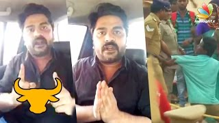 Simbu requests youngsters to withdraw Jallikattu protest